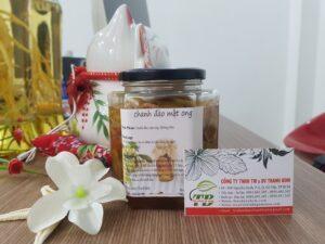 Chanh đào ngâm mật ong