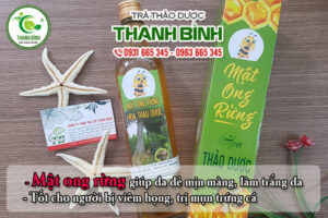 Mật ong rừng Thảo Dược Thanh Bình